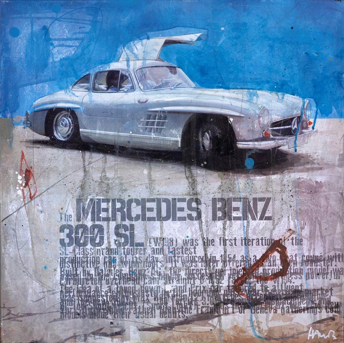 The Mercedez-Benz 300 SL